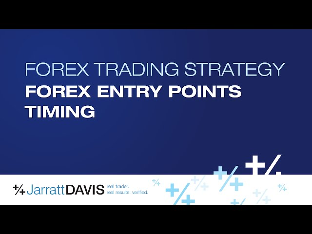 Forex trading entry points