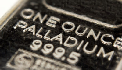 Palladium bar