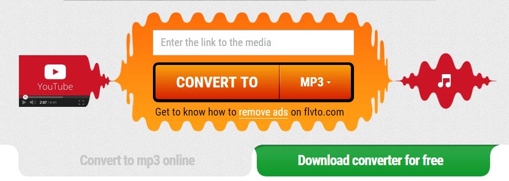 Convert to Mp3 FLVTO