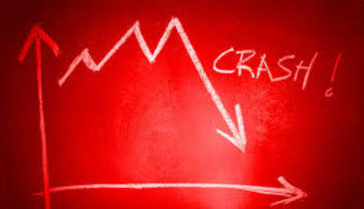 Stock trade crash market